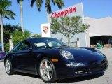 2008 Midnight Blue Metallic Porsche 911 Carrera S Coupe #663066