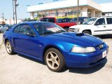 2003 Sonic Blue Metallic Ford Mustang GT Coupe #66882209