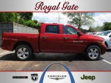 2012 Deep Cherry Red Crystal Pearl Dodge Ram 1500 Express Crew Cab #66882194