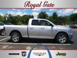 2012 Bright Silver Metallic Dodge Ram 1500 SLT Quad Cab 4x4 #66882193