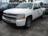 2009 Summit White Chevrolet Silverado 1500 LS Crew Cab #66882606