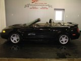 2002 Black Ford Mustang GT Convertible #6643927