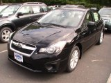 2012 Obsidian Black Pearl Subaru Impreza 2.0i Premium 4 Door #66882169
