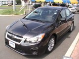 2012 Dark Gray Metallic Subaru Impreza 2.0i Premium 4 Door #66882167
