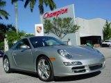 2008 Arctic Silver Metallic Porsche 911 Carrera 4S Coupe #663065