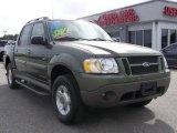 2002 Estate Green Metallic Ford Explorer Sport Trac  #6567333
