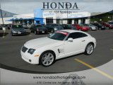 2006 Alabaster White Chrysler Crossfire Limited Coupe #66882536