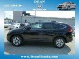 2012 Crystal Black Pearl Honda CR-V EX 4WD #66882861