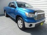 2007 Blue Streak Metallic Toyota Tundra SR5 TRD Double Cab #66882445