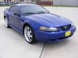 2004 Ford Mustang Sonic Blue Metallic