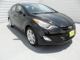 2013 Black Hyundai Elantra Limited #66882438