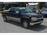 2000 Onyx Black Chevrolet Silverado 1500 Z71 Extended Cab 4x4 #66882779