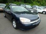 2005 Dark Blue Metallic Chevrolet Malibu LS V6 Sedan #66882379