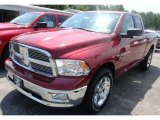 2012 Deep Cherry Red Crystal Pearl Dodge Ram 1500 SLT Quad Cab 4x4 #66882763
