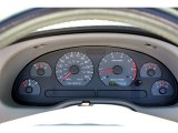 2002 Ford Mustang V6 Convertible Gauges