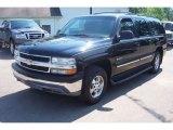 Onyx Black Chevrolet Suburban in 2001
