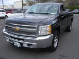 2012 Black Chevrolet Silverado 1500 LT Regular Cab 4x4 #66951666