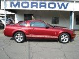 2007 Torch Red Ford Mustang V6 Deluxe Coupe #66951644
