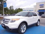 2013 Oxford White Ford Explorer XLT #66951623
