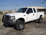 2004 Oxford White Ford F250 Super Duty XLT SuperCab 4x4 #6569673