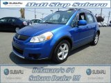 2007 Techno Blue Metallic Suzuki SX4 AWD #66951897