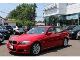 2009 Crimson Red BMW 3 Series 328i Sedan #66951556