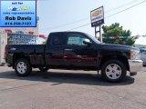 2012 Black Granite Metallic Chevrolet Silverado 1500 LT Extended Cab 4x4 #66951543
