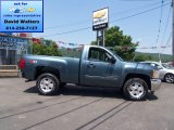 2012 Blue Granite Metallic Chevrolet Silverado 1500 LT Regular Cab 4x4 #66951542