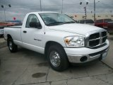 2007 Bright White Dodge Ram 1500 ST Regular Cab #66951537