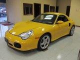 2004 Porsche 911 Speed Yellow