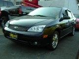 2005 Pitch Black Ford Focus ZX4 ST Sedan #6562265