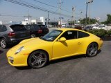 2010 Porsche 911 Speed Yellow