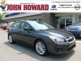 2012 Dark Gray Metallic Subaru Impreza 2.0i Premium 5 Door #66952080
