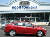 2012 Red Candy Metallic Ford Focus SE Sedan #66951773