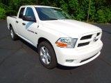 2012 Bright White Dodge Ram 1500 Express Quad Cab 4x4 #66952062
