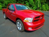 2012 Deep Cherry Red Crystal Pearl Dodge Ram 1500 Express Quad Cab 4x4 #66952061