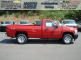 2012 Victory Red Chevrolet Silverado 1500 Work Truck Regular Cab 4x4 #66951755