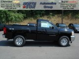 2012 Black Chevrolet Silverado 1500 LS Regular Cab 4x4 #66951754