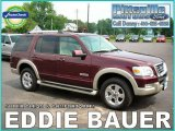 2006 Dark Cherry Metallic Ford Explorer Eddie Bauer 4x4 #6566733