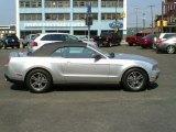 2011 Ingot Silver Metallic Ford Mustang V6 Premium Convertible #66951748