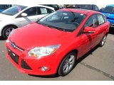 2012 Race Red Ford Focus SE Sport Sedan #66952032