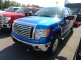 2012 Blue Flame Metallic Ford F150 XLT SuperCab 4x4 #66952020