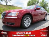 2012 Deep Cherry Red Crystal Pearl Chrysler 300  #66951696
