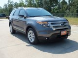 2013 Sterling Gray Metallic Ford Explorer XLT #67012641