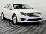 2011 White Suede Ford Fusion SE V6 #67012319