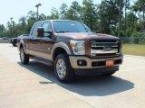 2012 Golden Bronze Metallic Ford F250 Super Duty King Ranch Crew Cab 4x4 #67012636
