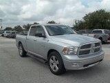2010 Bright Silver Metallic Dodge Ram 1500 Lone Star Quad Cab #67011955