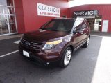 2011 Bordeaux Reserve Red Metallic Ford Explorer Limited #67012286