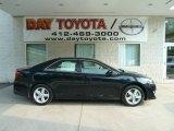 2012 Attitude Black Metallic Toyota Camry SE #67011925