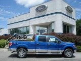 2012 Blue Flame Metallic Ford F150 XLT SuperCrew 4x4 #67011891